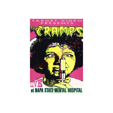 DVD The Cramps: Live At Napa State Hospital