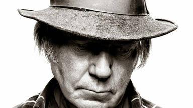 Imagen de la portada de 'El Sueño de un Hippie' de Neil Young.