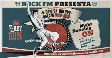 Vuelve Rock FM Night Running