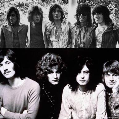 La insólita manera en la que The Rolling Stones y Led Zeppelin acabaron con una plaga