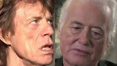 """Mick Jagger dice estar """"decepcionado"""" con Led Zeppelin y Jimmy Page le responde en directo"""