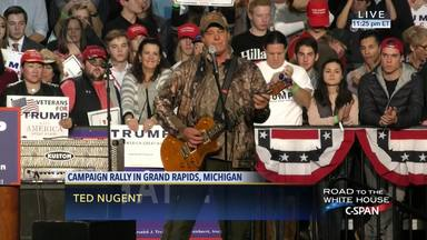 """Ted Nugent vuelve a cruzar una línea roja llamando """"nazi"""" a Facebook"""