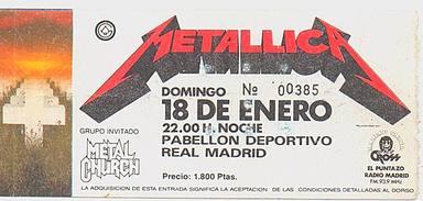 Entrada Metallica