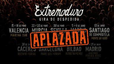 Robe Iniesta anuncia que Extremoduro aplaza su gira de despedida a 2021