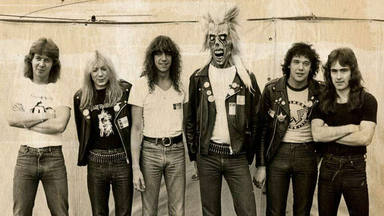 La formación de Iron Maiden en 1980