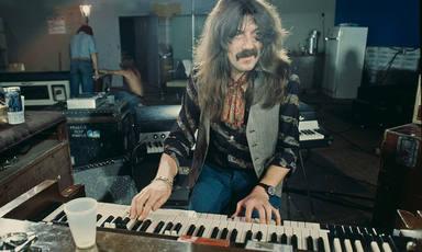 Jon Lord (Deep Purple) con su inseparable Korg