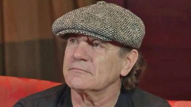 """Brian Johnson (AC/DC) explica cómo """"hundió su cabeza en whiskey"""" en su peor momento de salud"""