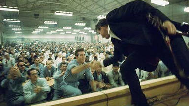 Johnny Cash en la prisión estatal de Folsom, California