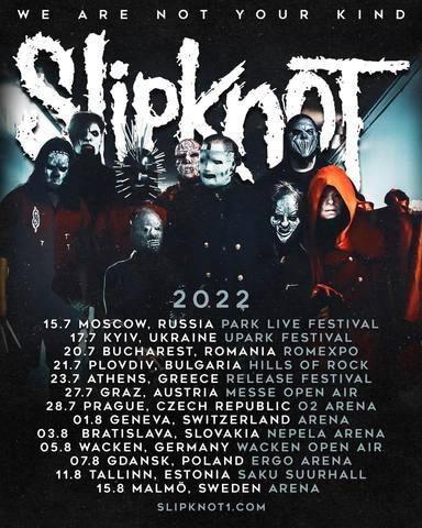 Gira Europa Slipknot