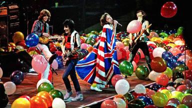 The Rolling Stones en el Hampton Coliseum de Virginia (EE.UU.) en 1981