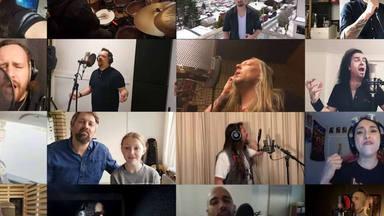"""Más de 50 músicos se juntan para grabar la versión de metal más épica de """"We Are the World"""""""