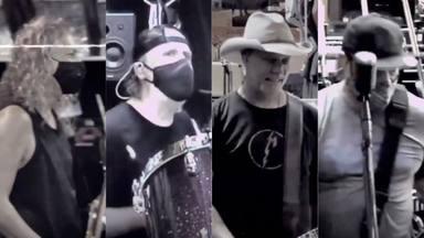 La vuelta de 'Metallica' a los ensayos