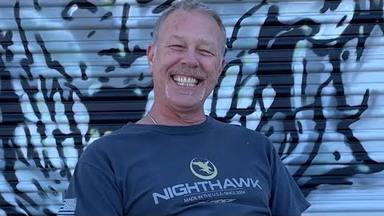 """James Hetfield (Metallica): """"Estoy aquí como ejemplo de que la música te puede salvar la vida"""""""