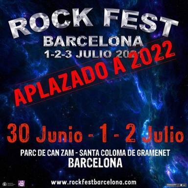 Cartel Barcelona Rock Fest