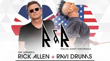 ¿Se ha pasado Rick Allen (Def Leppard) a la música electrónica? Así suena la promoción de su nuevo show