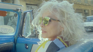 Imagen de Debbie Harry en La Habana en 2019.