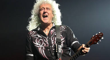 Brian May - Adam Lambert and Queen in concert - New Jersey
