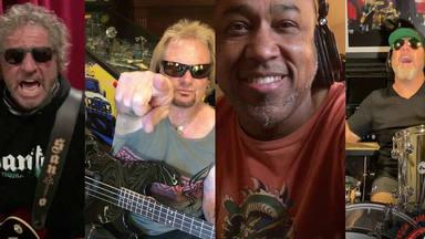 """La divertida versión de """"Whole Lotta Rosie"""" de AC/DC por Sammy Hagar (ex-Van Halen)"""