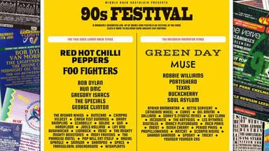 Esta web te monta tu propio festival de los '90 (y hasta te pone la música)
