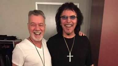 Tony Iommi (Black Sabbath) explica el grave problema que compartía con Eddie Van Halen a la hora de tocar