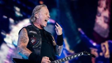 James Hetfield (Metallica) se sincera: escribe riffs cuando está feliz y letras cuando está triste