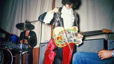 Jimmy Page con su Dragon Telecaster
