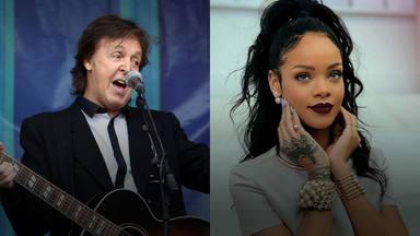 """Paul McCartney (The Beatles) sucumbe ante los encantos de Rihanna: """"Tiene talento"""""""