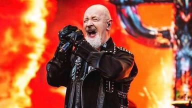 La tremenda transformación de Rob Halford (Judas Priest) en el Santa Claus más metalero