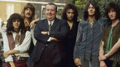 Deep Purple con Sir Malcolm Arnold (director de la Royal Philharmonic Orchestra)