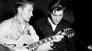Scotty Moore: el guitarrista fiel a Elvis Presley