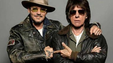 Jeff Beck y Jonnhy Deep cumpleaños en RockFM Motel con Rodrigo Contreras