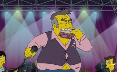 El tremendo cabreo de Morrissey después de aparecer en un capítulo de 'Los Simpson'