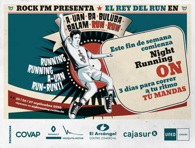 Este fin de semana comienza la 6ª Rock FM Night Running ON