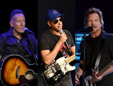 "Mira a Tom Morello, Bruce Springsteen y Eddie Vedder versionando ""Highway To Hell"" de AC/DC"