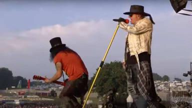 Guns N' Roses comparte el vídeo de los momentos más gloriosos de su actuación en el Download Festival