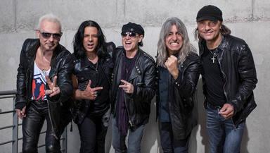 Scorpions por fin viven su emocionante reencuentro en el estudio de grabación