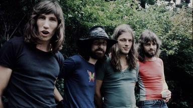 Imagen de Pink FLoyd en los setenta.