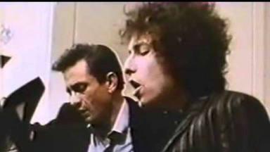 Johnny Cash y Bob Dylan