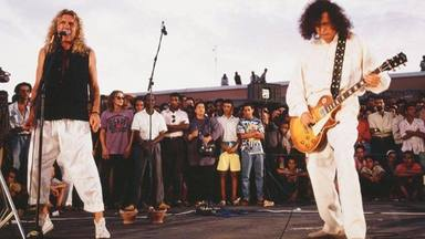 Robert Plant y Jimmy Page en Marruecos