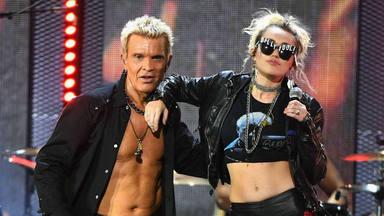 Se anuncia la insólita aparición de Billy Idol en el próximo álbum de Miley Cyrus