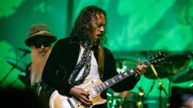 "Escucha a Kirk Hammett (Metallica) y a ZZ Top tocando juntos la espectacular ""The Green Manalishi"""