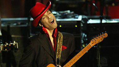 Prince haciéndose con el espectáculo del Rock & Roll Hall Of Fame