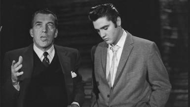 Elvis Presley en 'The Ed Sullivan Show'.