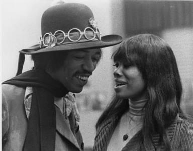Jimi Hendrix y Lithofayne Pridgon