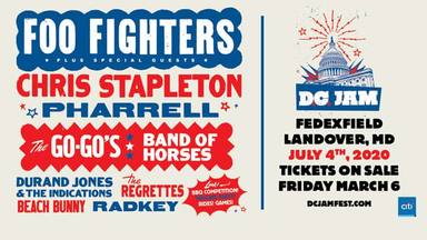 El festival de Foo Fighters: cartel completo