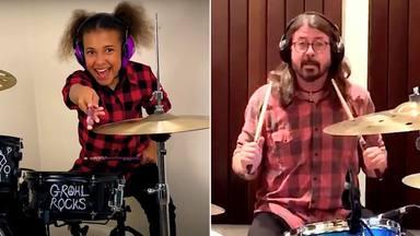 """Nandi Bushell, la niña prodigio de 10 años, es la """"responsable"""" de que Foo Fighters publique, ahora, 'Medicine"""