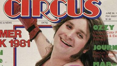 Ozzy Osbourne recuerda el día que se disfrazó de animadora para la portada de una revista