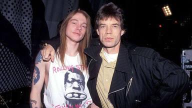 Llega el brutal concierto inédito de The Rolling Stones con miembros de Guns N' Roses
