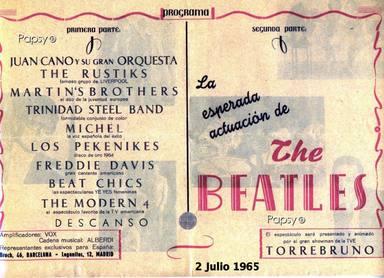 Cartel Pekeniques Beatles