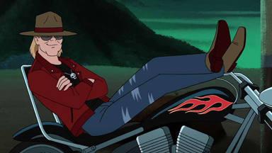 """Así será la """"misteriosa"""" aparición de Axl Rose (Guns N' Roses) en un nuevo capítulo de Scooby-Doo"""